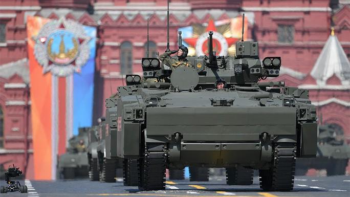 Nga mang robot và tên lửa siêu âm đến lễ diễu binh - Ảnh 4.