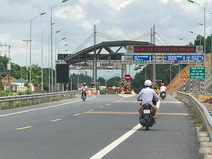 Bộ Giao thông chính thức cho thu phí BOT Thái Nguyên-Chợ Mới - Ảnh 1.