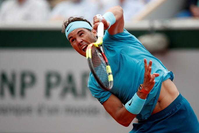Clip Roland Garros 2018: Nadal, Sharapova nhẹ nhàng vào vòng 3 - Ảnh 2.