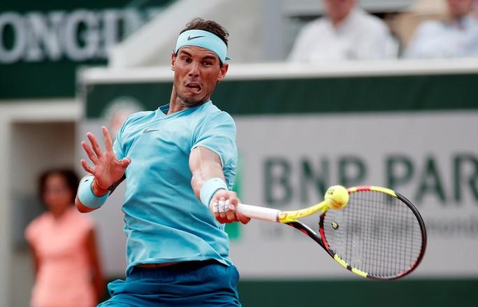 Clip Roland Garros 2018: Nadal, Sharapova nhẹ nhàng vào vòng 3 - Ảnh 1.