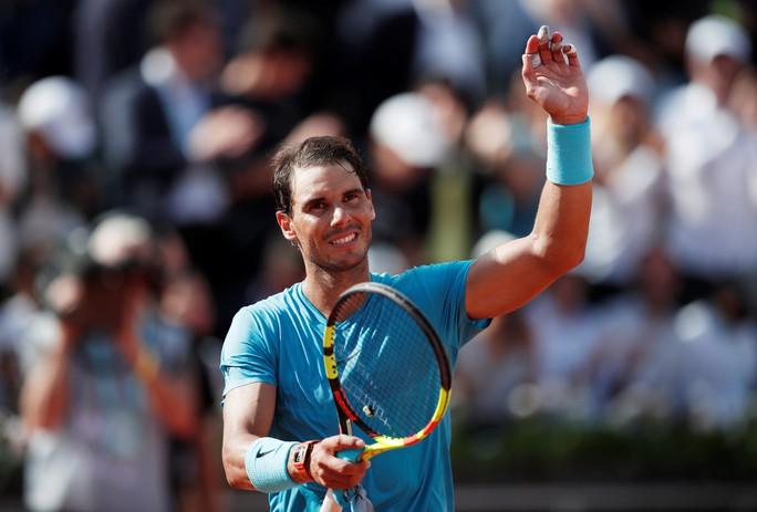 Clip Roland Garros 2018: Nadal, Sharapova nhẹ nhàng vào vòng 3 - Ảnh 4.
