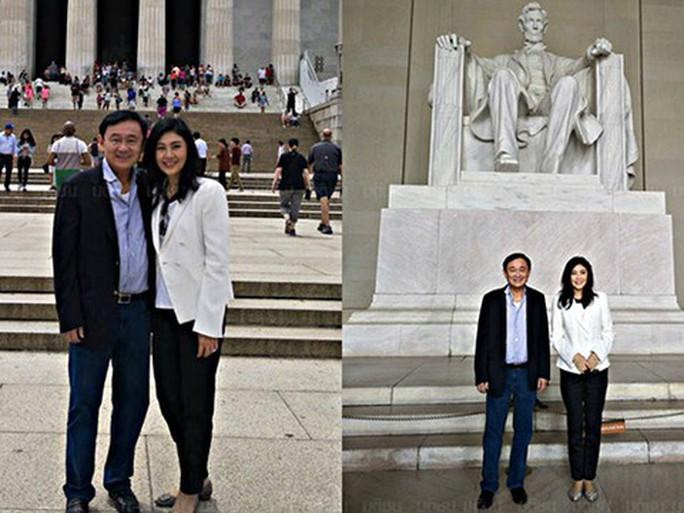 Rộ ảnh anh em bà Yingluck ở Mỹ - Ảnh 1.