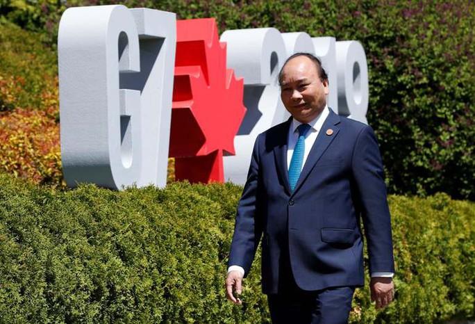 Thủ tướng lên tiếng tại G7: Biển Đông phải là vùng biển hòa bình - Ảnh 2.