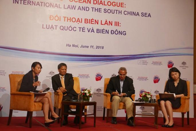 Chuyên gia kêu gọi tuân thủ luật pháp quốc tế ở biển Đông - Ảnh 1.