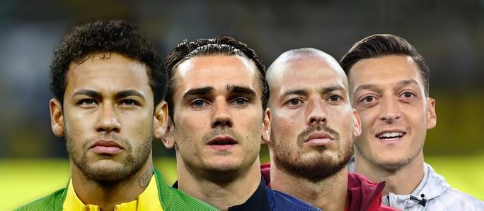 Chìa khóa của 4 ứng cử viên vô địch World Cup 2018 - Ảnh 1.