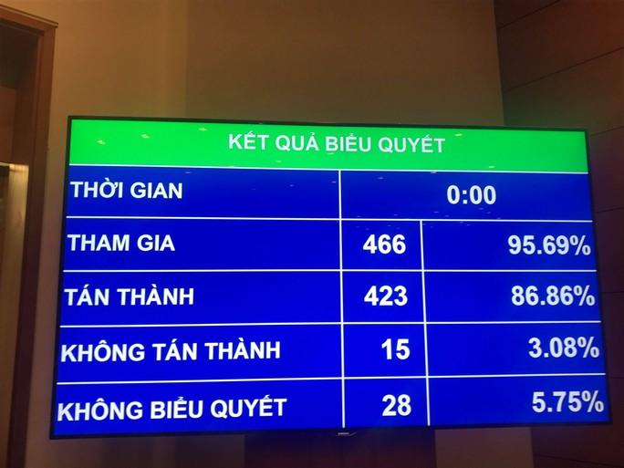 86,86% đại biểu Quốc hội đồng ý thông qua Luật An ninh mạng - Ảnh 1.