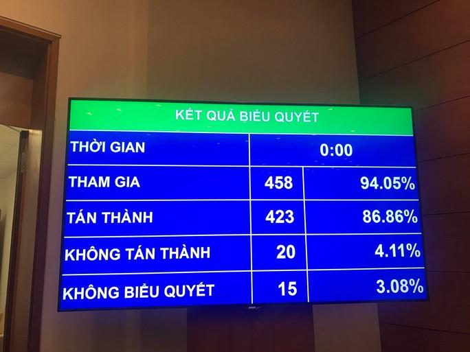 86,86% đại biểu Quốc hội đồng ý thông qua Luật An ninh mạng - Ảnh 4.