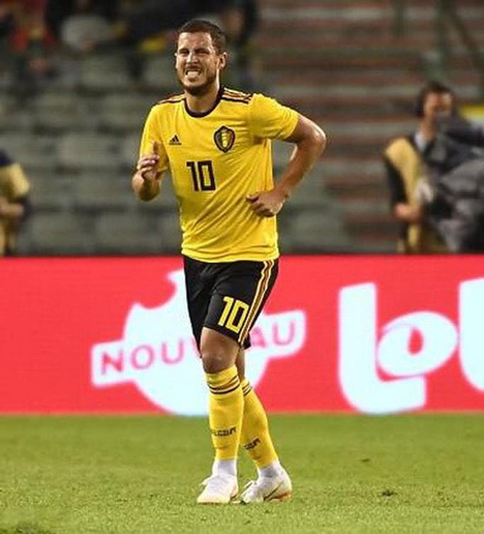 Lukaku lập cú đúp, Bỉ thót tim với chấn thương Hazard - Ảnh 3.