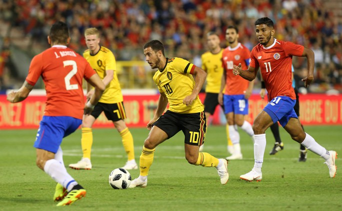 Lukaku lập cú đúp, Bỉ thót tim với chấn thương Hazard - Ảnh 2.