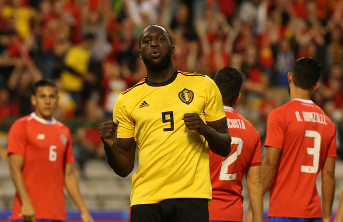 Lukaku lập cú đúp, Bỉ thót tim với chấn thương Hazard - Ảnh 6.