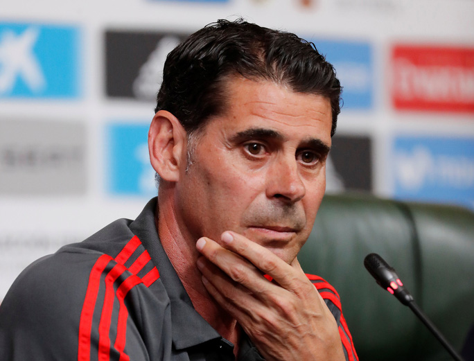 Hierro từ chức HLV trưởng tuyển Tây Ban Nha - Ảnh 3.