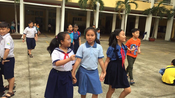 Thi 8 chọn 1 vào lớp 6 Trường chuyên Trần Đại Nghĩa - Ảnh 4.