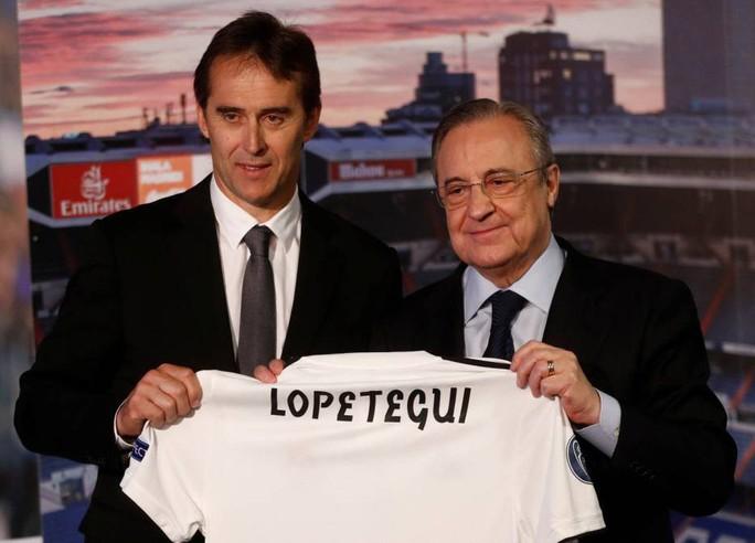 Real Madrid ra mắt tân HLV Lopetegui, lờ mục tiêu Neymar - Ảnh 1.
