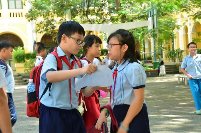 Dự kiến 18-6 công bố kết quả điểm vào lớp 6 chuyên Trần Đại Nghĩa - Ảnh 1.
