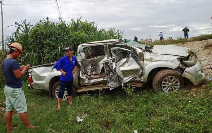 Lại xảy ra tai nạn tàu hỏa tông ô tô, 2 người thương vong - Ảnh 1.