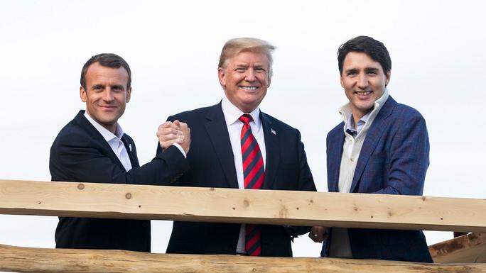 Những phát ngôn bây giờ mới tiết lộ của ông Trump tại G7 - Ảnh 6.