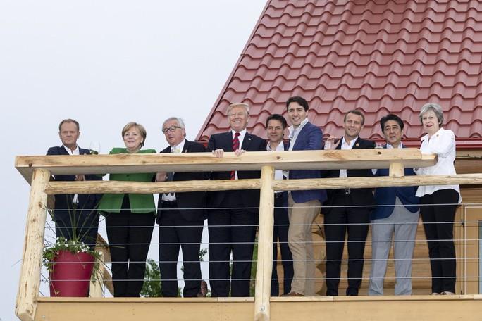 Những phát ngôn bây giờ mới tiết lộ của ông Trump tại G7 - Ảnh 5.