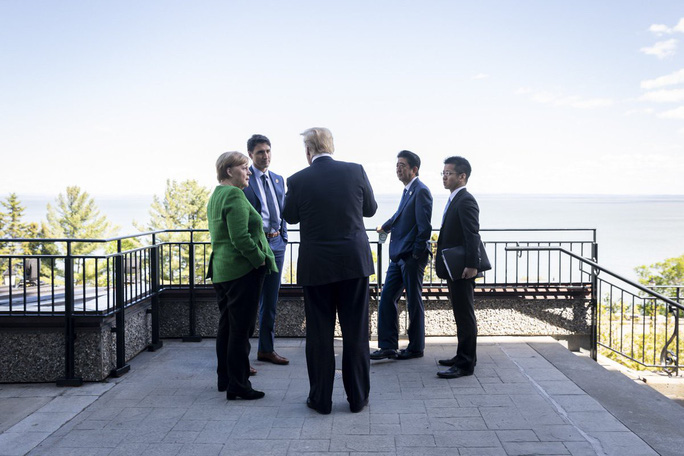 Những phát ngôn bây giờ mới tiết lộ của ông Trump tại G7 - Ảnh 4.