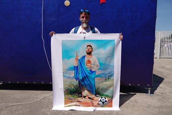 Hấp lực Messi trên đất Nga - Ảnh 1.