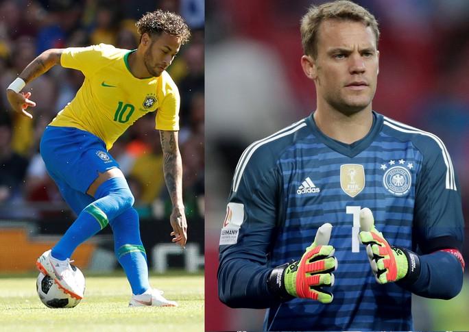 Brazil và Đức gặp khó - Ảnh 1.