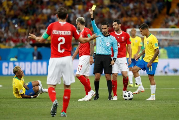 Neymar nhạt nhòa, Brazil hòa tiếc nuối với Thụy Sĩ - Ảnh 6.