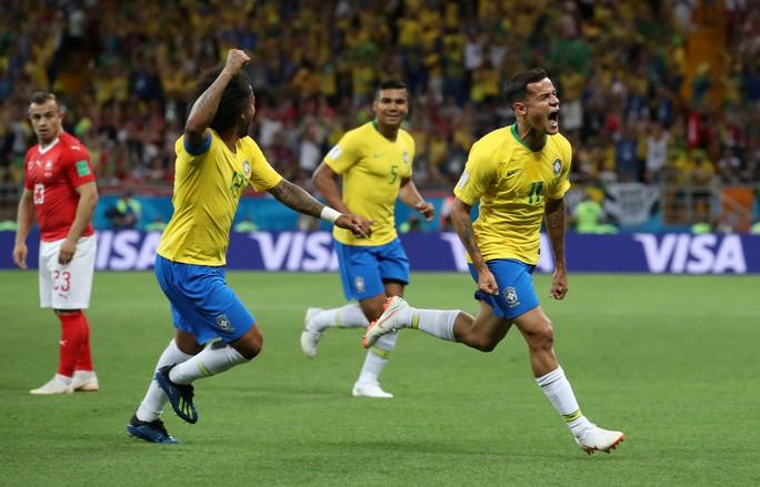 Neymar nhạt nhòa, Brazil hòa tiếc nuối với Thụy Sĩ - Ảnh 4.