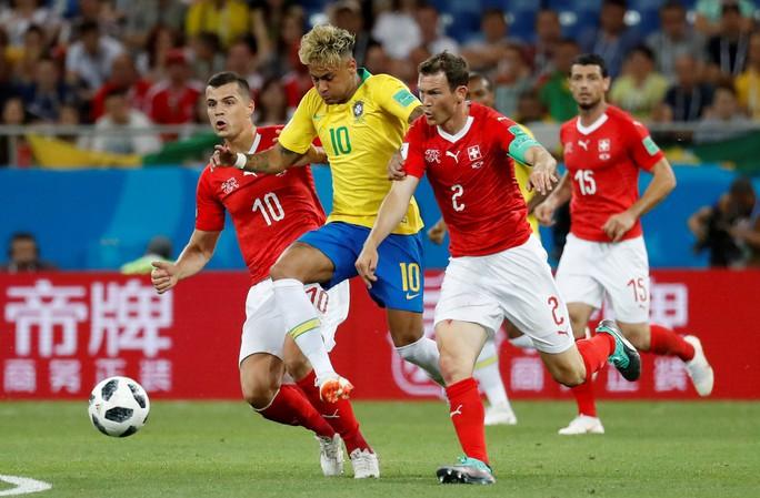 Neymar nhạt nhòa, Brazil hòa tiếc nuối với Thụy Sĩ - Ảnh 2.
