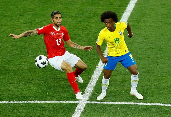 Neymar nhạt nhòa, Brazil hòa tiếc nuối với Thụy Sĩ - Ảnh 3.