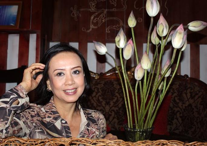 Nghệ sĩ Minh Phượng hồi phục sau cơn đột quỵ - Ảnh 1.
