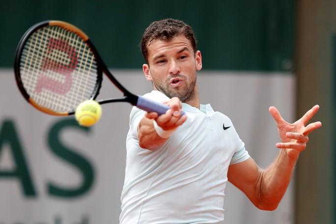 Roland Garros 2018: Djokovic, Zverev vất vả giành chiến thắng, Dimitrov dừng cuộc chơi - Ảnh 1.