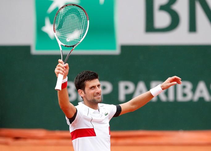 Roland Garros 2018: Djokovic, Zverev vất vả giành chiến thắng, Dimitrov dừng cuộc chơi - Ảnh 4.