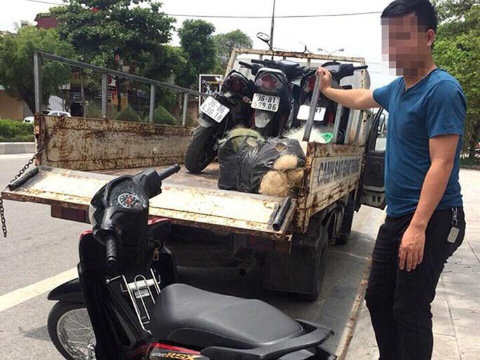 CSGT Thanh Hoá lại quăng lưới đánh cá bắt xe vi phạm - Ảnh 1.