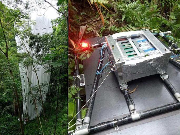 Cơ quan khí tượng: Vật thể lạ rơi xuống Hà Giang không phải thiết bị khí tượng thủy văn - Ảnh 1.