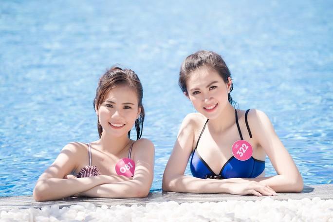 Thí sinh Hoa hậu Việt Nam 2018 nóng bỏng với bikini - Ảnh 5.