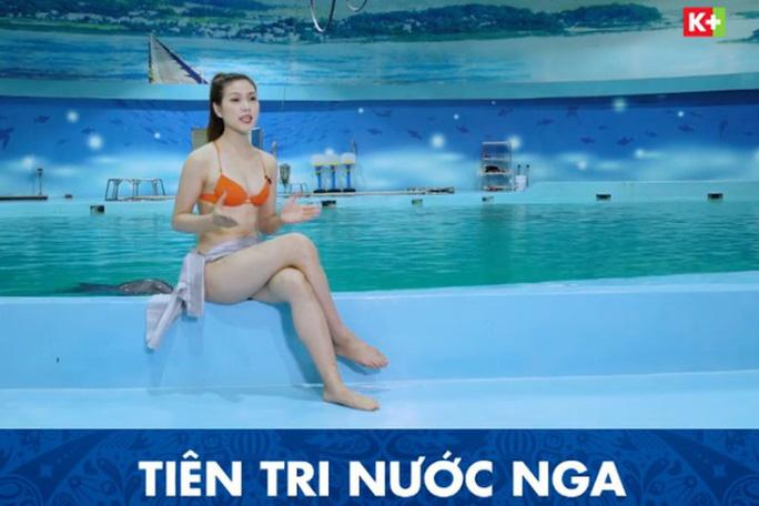 Ồn ào MC mặc bikini dẫn chương trình - Ảnh 2.