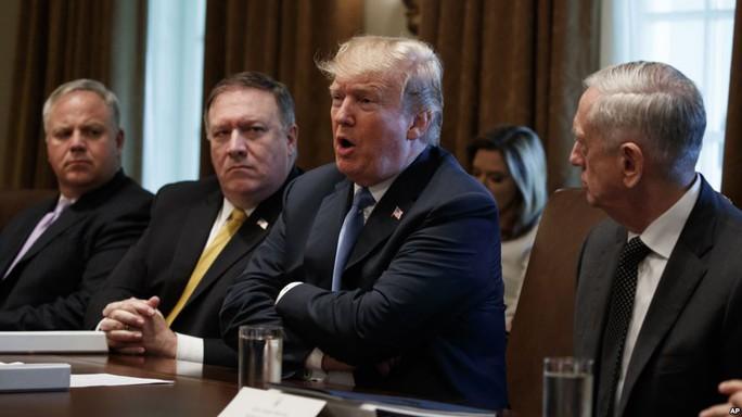Ông Donald Trump: Triều Tiên hủy bãi thử, quan chức Mỹ bảo không - Ảnh 1.