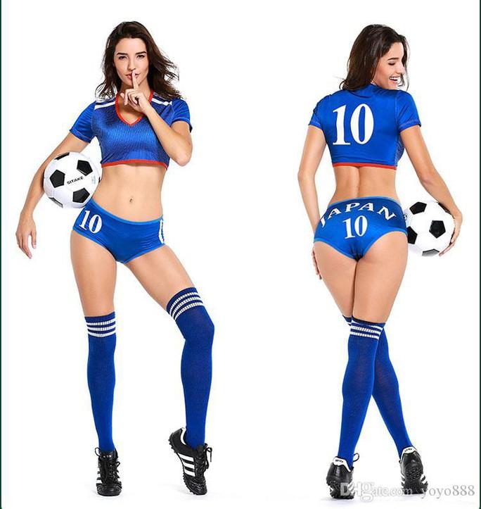 Nóng hơn khi mua trang phục sexy mùa World Cup - Ảnh 6.