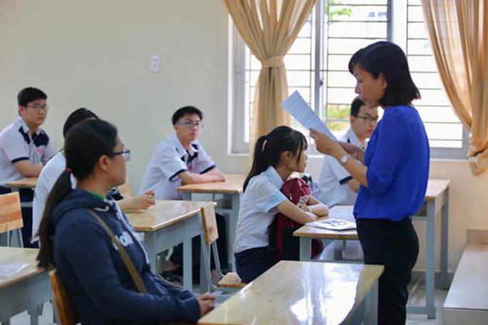 98,58% thí sinh làm thủ tục dự thi - Ảnh 1.