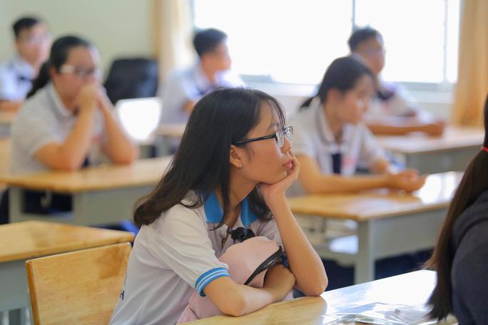 Cung bậc cảm xúc của thí sinh ngày đầu đến điểm thi - Ảnh 6.