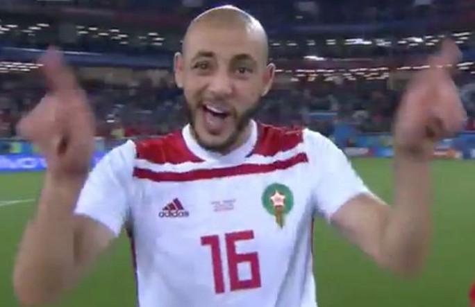 Cầu thủ Morocco: VAR là đồ rác rưởi - Ảnh 1.
