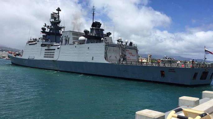 Tàu chiến tấp nập đến điểm hẹn tập trận RIMPAC - Ảnh 6.