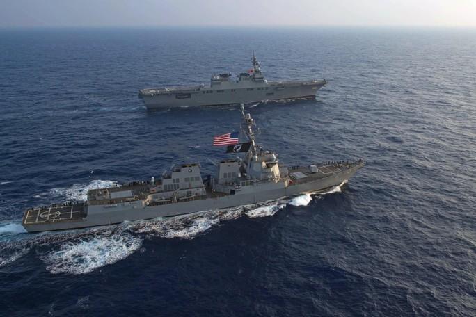 Tàu chiến tấp nập đến điểm hẹn tập trận RIMPAC - Ảnh 8.