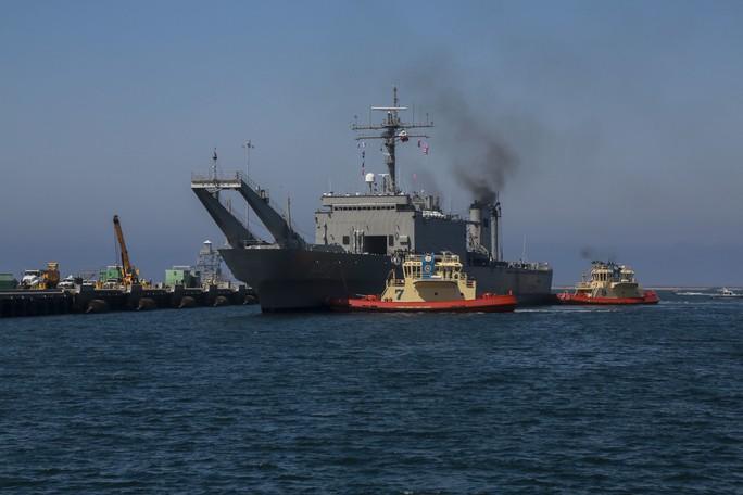Tàu chiến tấp nập đến điểm hẹn tập trận RIMPAC - Ảnh 10.
