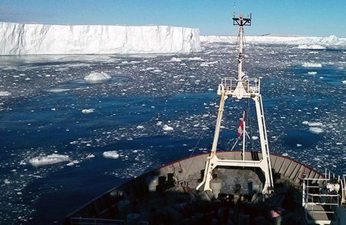 Nhiệt núi lửa bí ẩn dưới sông băng Nam Cực - Ảnh 1.