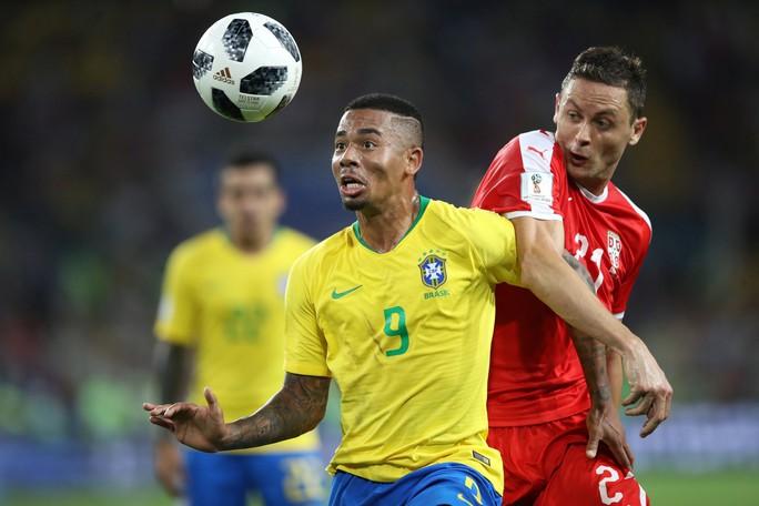 Không cho Serbia tạo sốc, Brazil cùng Thụy Sĩ vào vòng 1/8 - Ảnh 2.