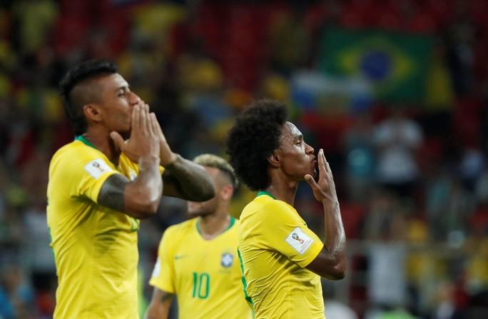 Không cho Serbia tạo sốc, Brazil cùng Thụy Sĩ vào vòng 1/8 - Ảnh 3.