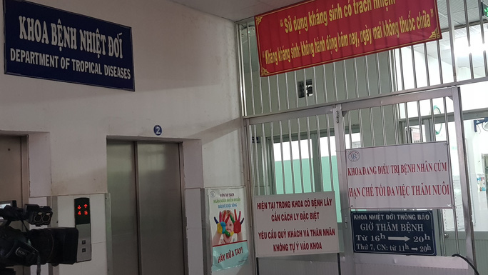 Khống chế được ổ cúm A/H1N1 tại Bệnh viện Chợ Rẫy - Ảnh 1.