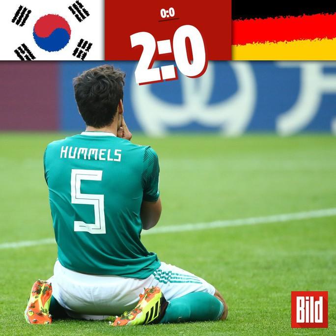 Tuyển Đức bị loại, fan Brazil và Anh háo hức ăn mừng - Ảnh 2.