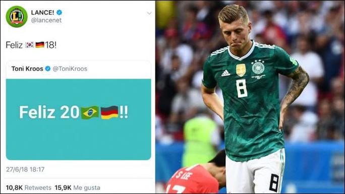 Tuyển Đức bị loại, fan Brazil và Anh háo hức ăn mừng - Ảnh 3.