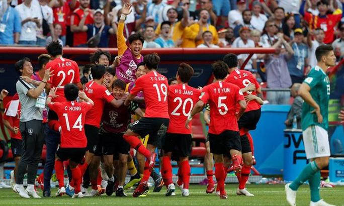 Hàn Quốc ăn mừng hụt vì…tưởng được vào vòng trong - Ảnh 2.